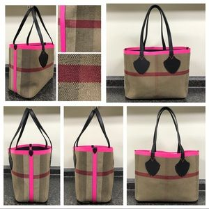 85b6a8c6ba Burberry Bags | The Giant Reversible Checkleather Tote | Poshmark
